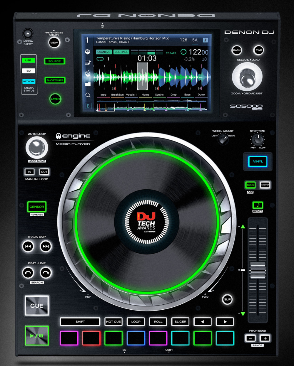 WHAT? The best parts of the S8, combined with the best parts of a CDJ, in a totally STANDALONE package? They really made something special here.
