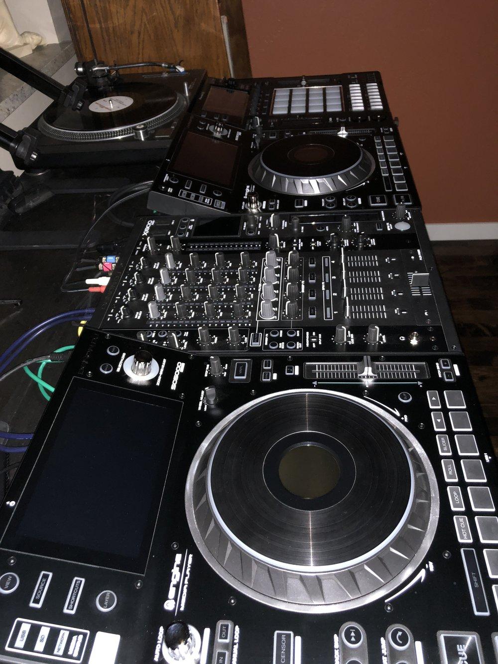 Denon Prime x1800 SC5000 Pioneer DJS-1000