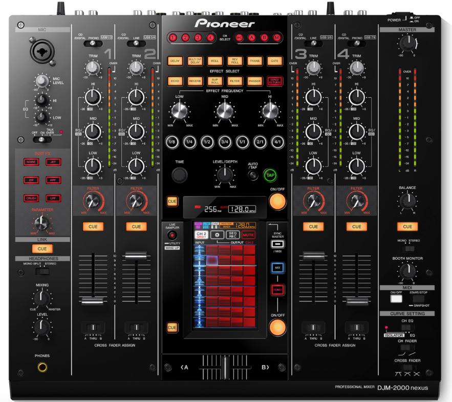 Pioneer Nexus 2000 Dj Mixer