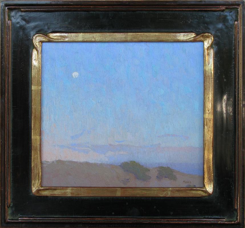 """""""Blushing Twilight"""" / 9"""" x 10"""" / Laurel Frame 22k / Primavera Gallery"""