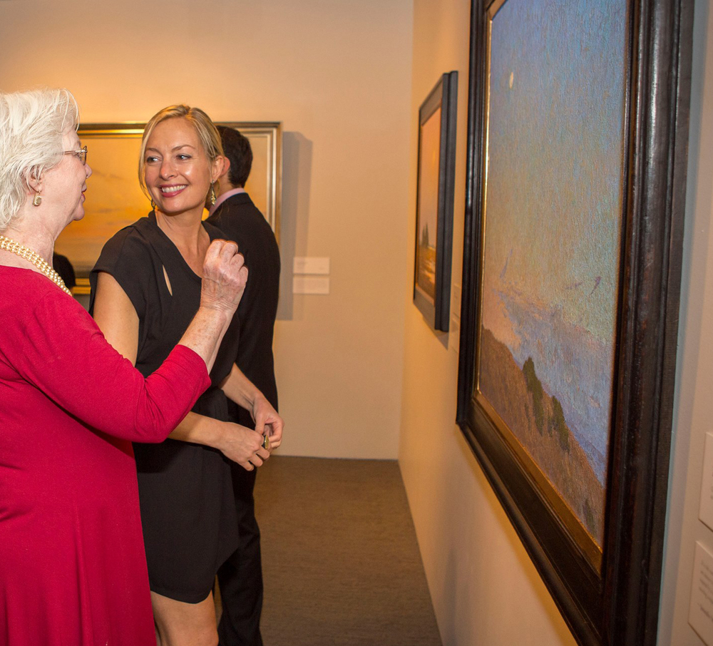 Opening night at the Autry Museum with Collector Barbara Malone  2014