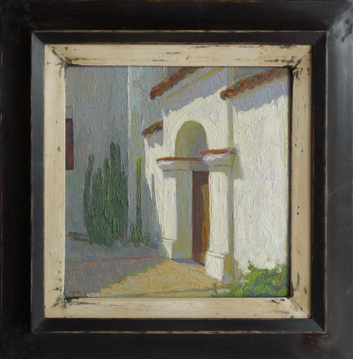 "Mission San Juan Bautista / 12""x12"" / Private Collection"