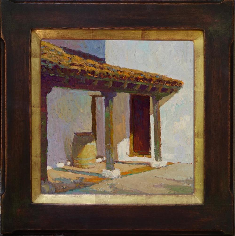 """El Presidio Santa Barbara / 10"""" x 10"""""""