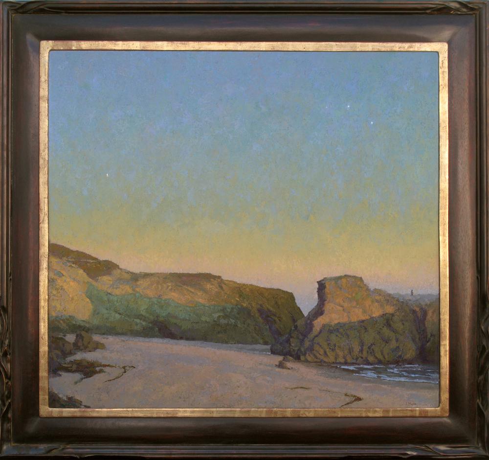 """""""Dusk, Leo Carrillo"""" / 40"""" x 44"""" / Oil on Canvas Panel"""