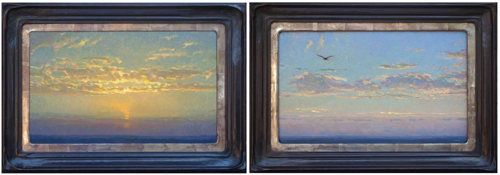 Twilight Escort I & III   /  12 x 20 inches each