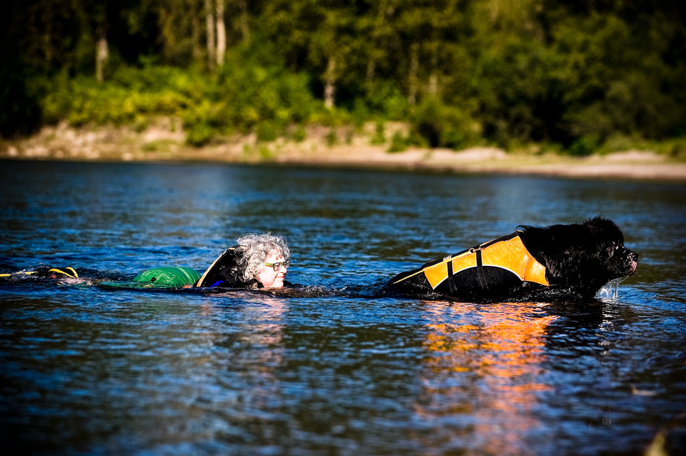 Her dream is to spend the summers kayaking up the west coast from Puget Sound to Alaska and so regular training with Orka involves swimming, water rescue techniques and kayaking.
