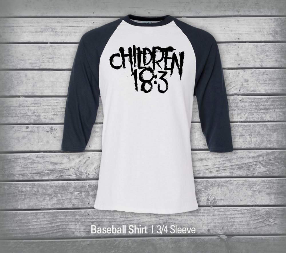 Baseball Shirt Three Quarter Sleeve
