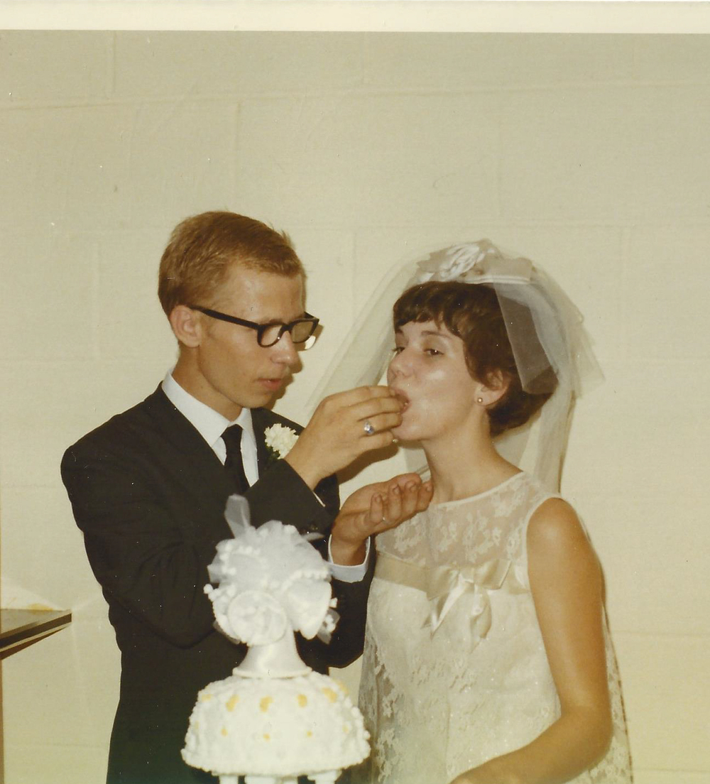 My Memaw and Paw on their wedding day in 1969.