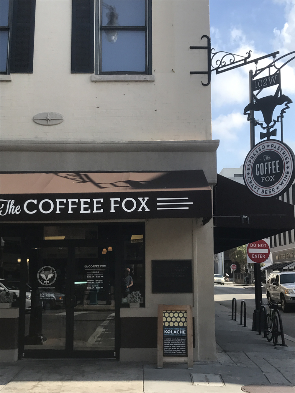 Always fun to see what's going with Felix at  The Coffee Fox .
