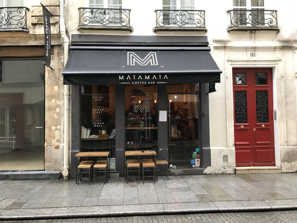 Matamata - my favorite coffee shop in the 'hood