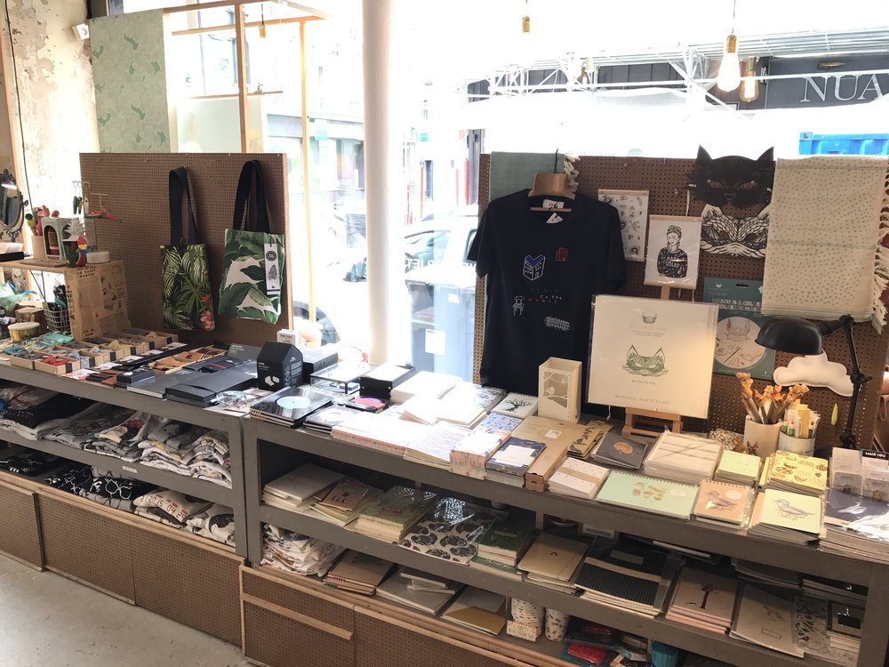French Touche - a cute shop featuring work by local makers