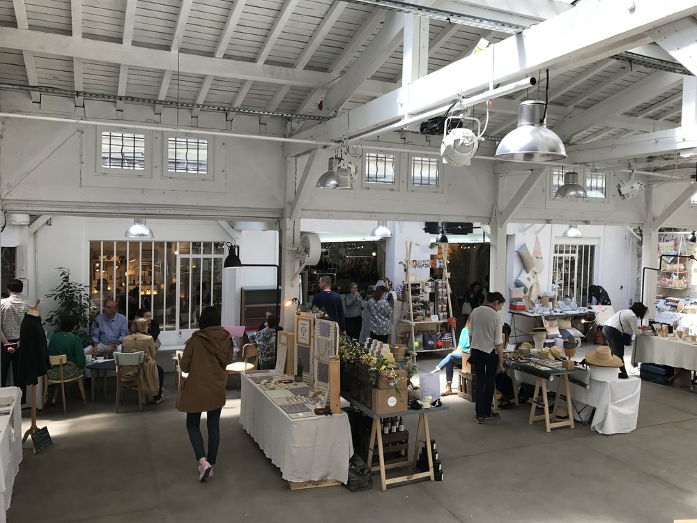 pop up artisan market at Hotel Bohem