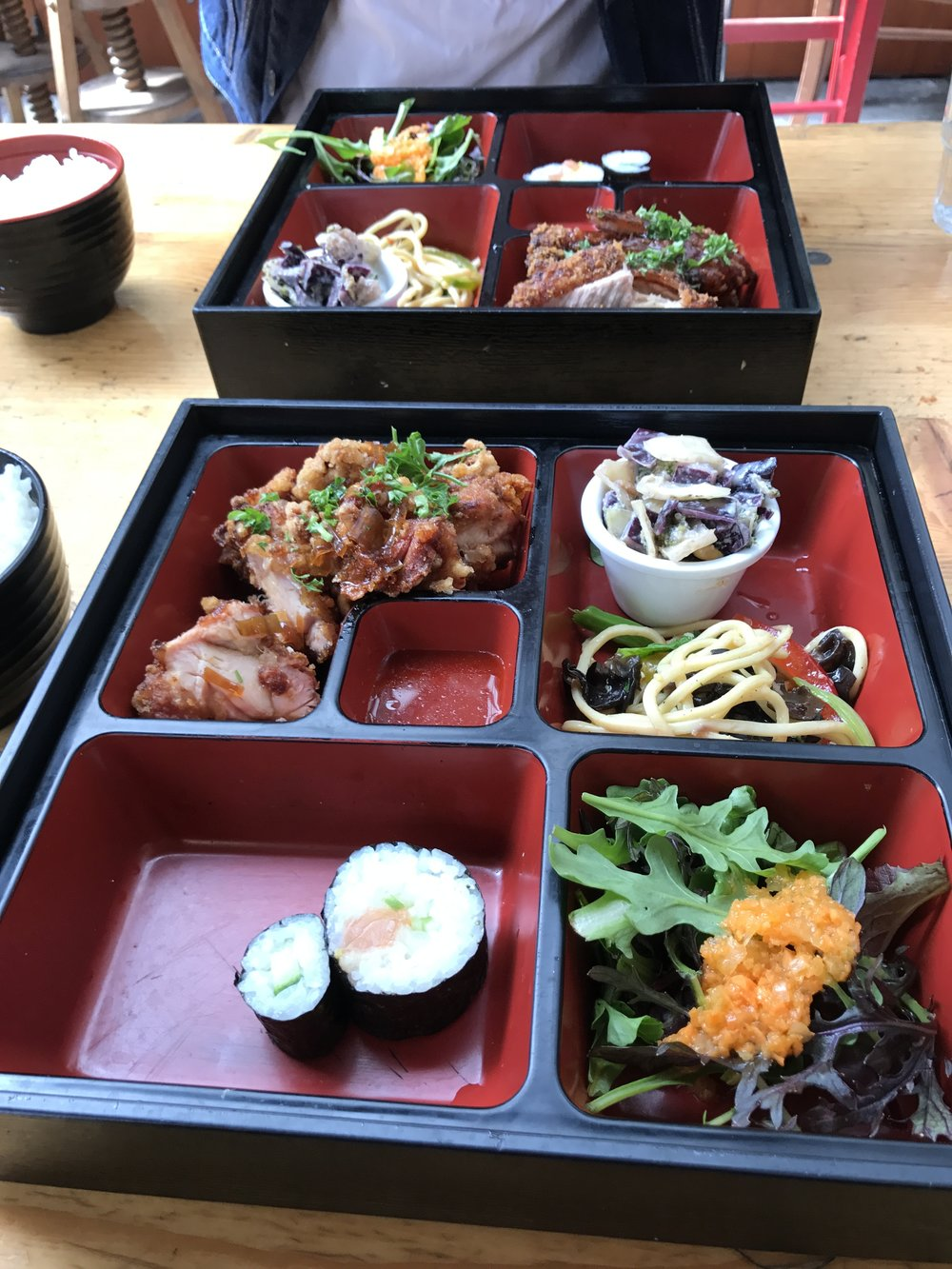 bento box from Les Enfante Rouge
