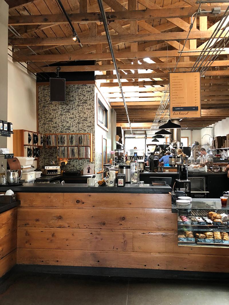 Four Barrel Coffee interior