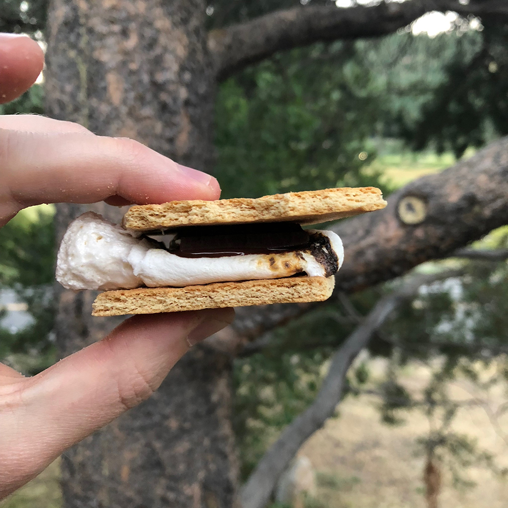 What better way to round out a trip than with s'mores?!