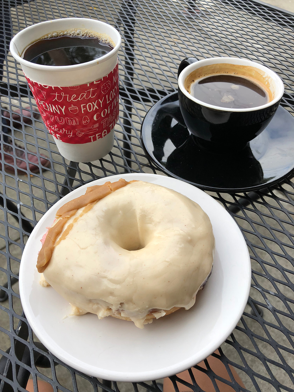 vegan donut from Henny Penny Cafe