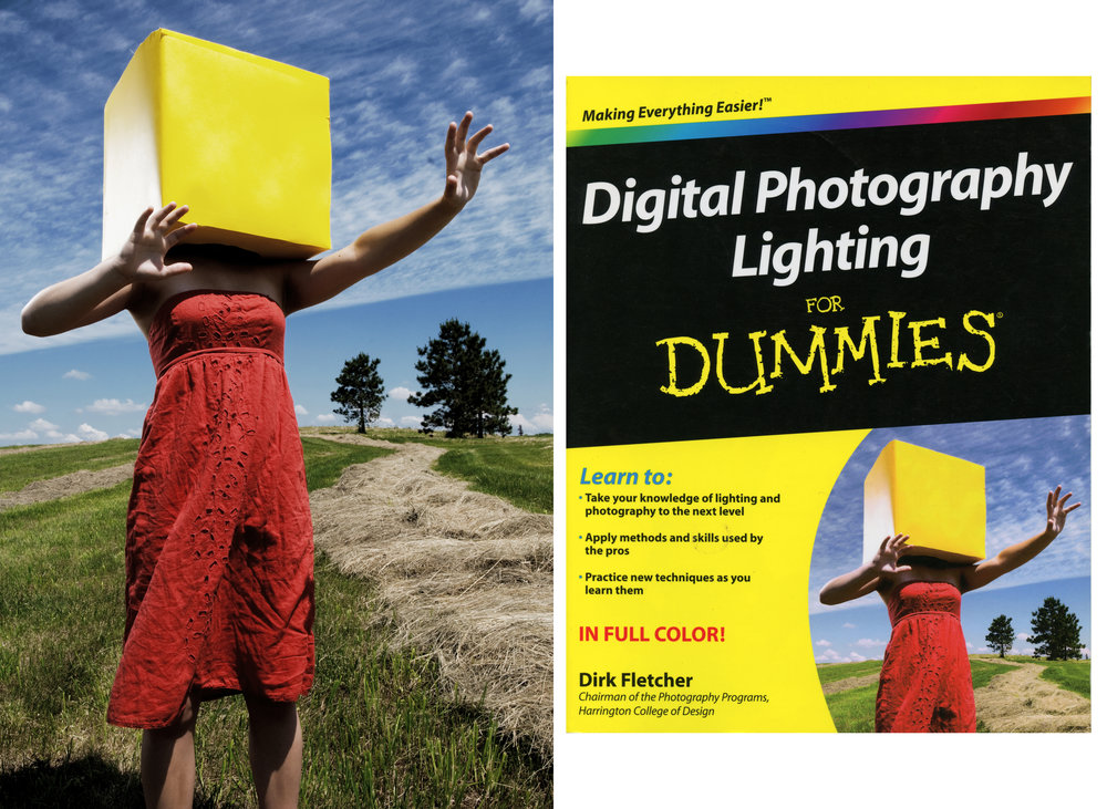 Digital Photography Lighting For Dummies; Cover Photo
