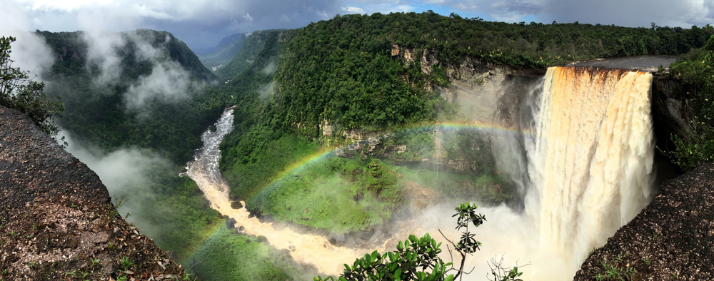 Kaieteur Falls at Rainbow View