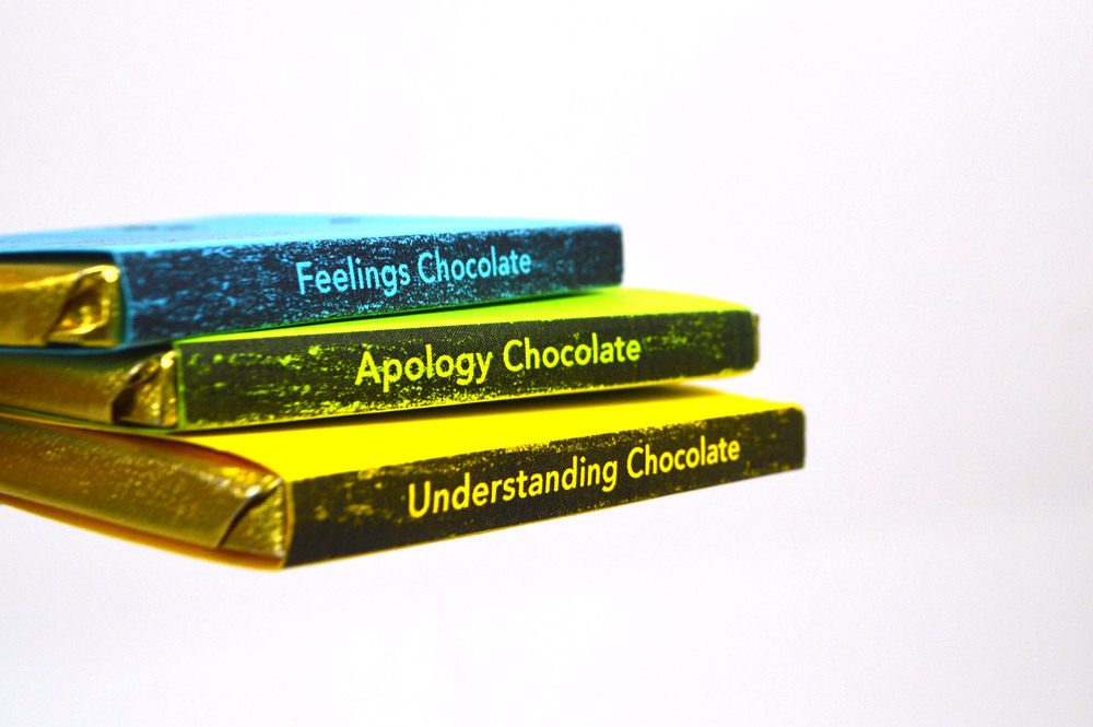 Conversation Chocolate teaches key dialogue for communicating and resolving interpersonal conflict.