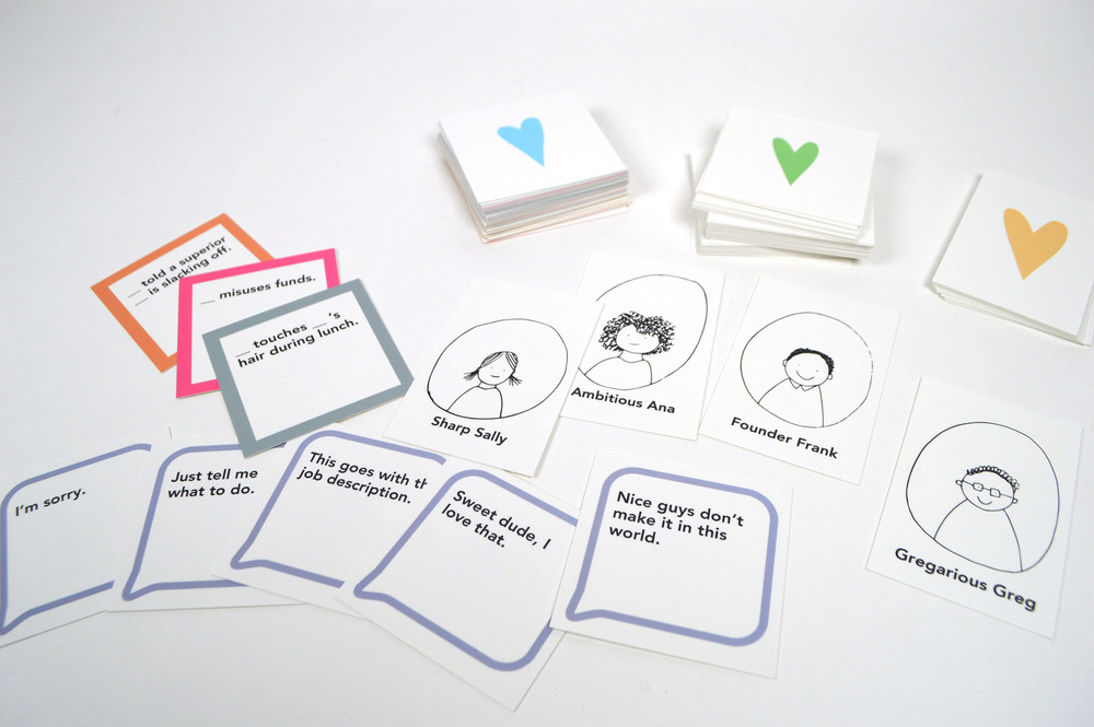 "The ""Talk Human to Me"" card game diagnoses problem areas in one's workplace culture."