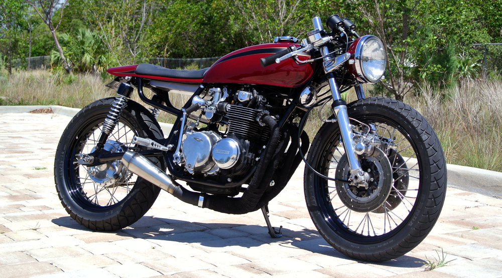 1976 Honda CB550 - Cafe Racer
