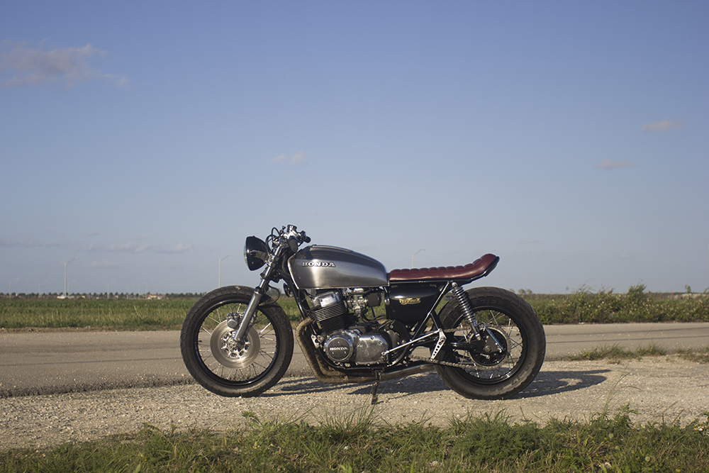 1977 Honda CB750 The Corner Garage Motorcycle Co