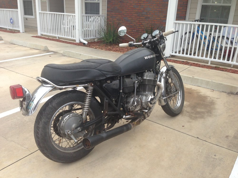 1977 Honda CB750 - Before