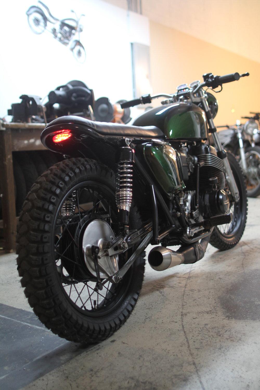 1974 Honda CB750 - Brat Tracker Style