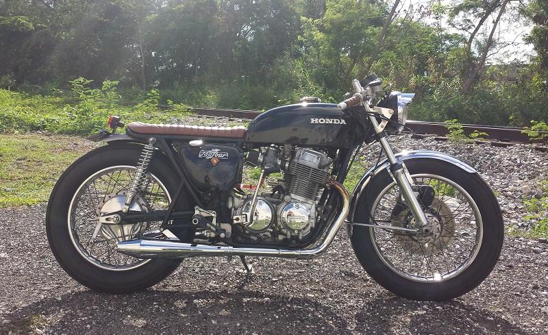 1974 Honda CB750 - Cafe Racer