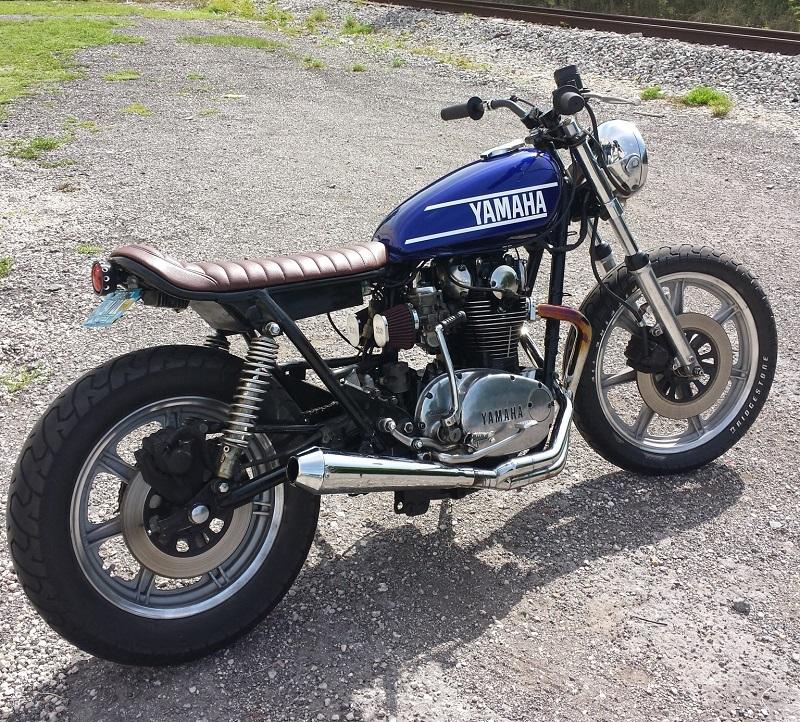 1980 Yamaha XS650 - Brat Tracker Style