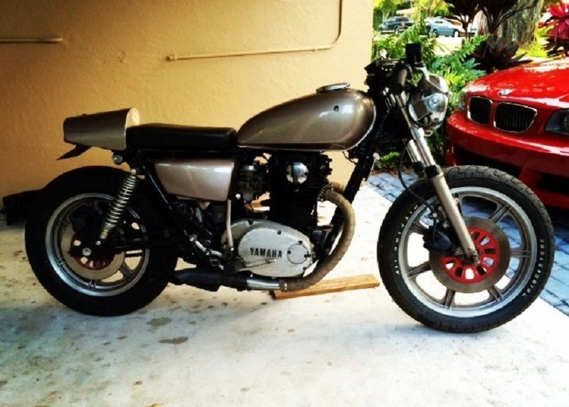 1980 Yamaha XS650 - Before