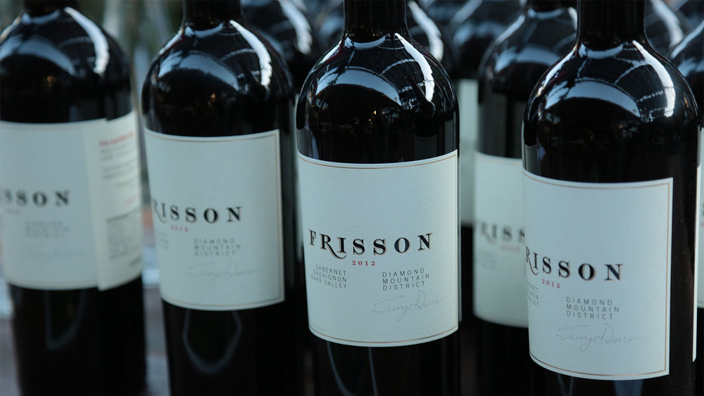 My favorite wine of the evening, the 2012 Frisson Cabernet Sauvignon.