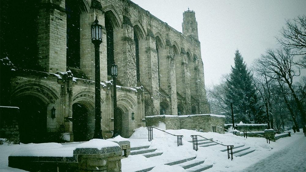 Northwestern University, where this whole thing began.
