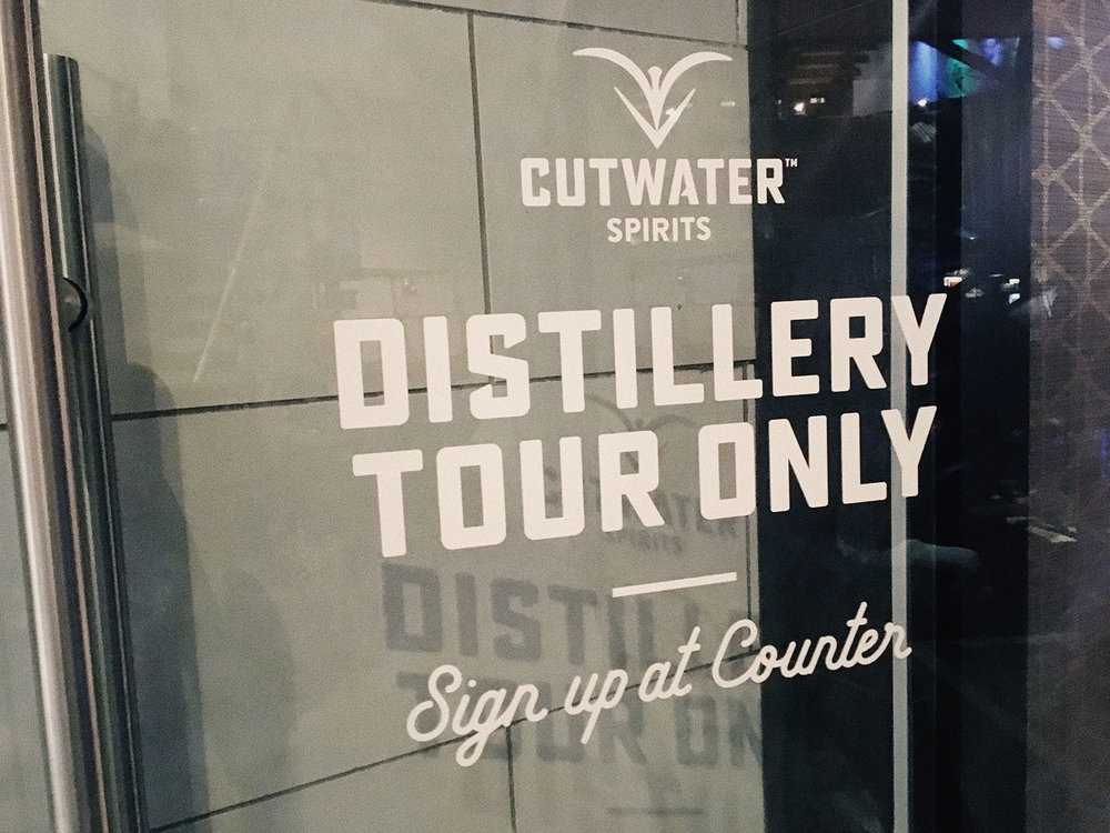 The Cutwater Distillery Tour did not disappoint.