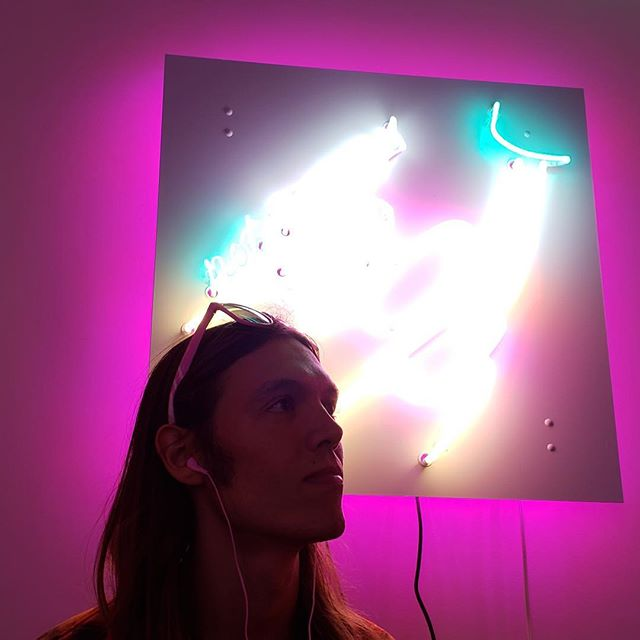 "⚡️ ""Feel the electricity all through your soul."" ⚡️⠀ ⠀ It's your last chance to explore a neon graveyard. Tix at trapstreet.co⠀ ⠀ 📸 : @mattmakeslight⠀ ⠀ #trapstreet #audiotour #neon #art #artsdistrictla #gallery #dtla #lililakich #afterlife #graveyard #explore #advenutre #letsgetlost"