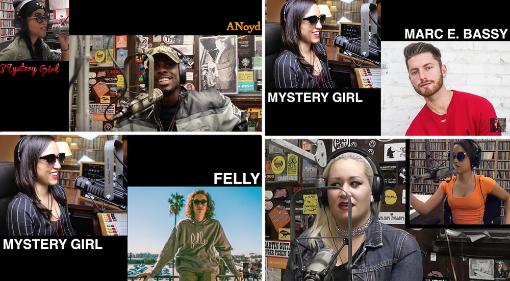 RADIO INTERVIEWS (Video)  - *Featured interviews. More on YouTube: Mystery Girl Radio TV*