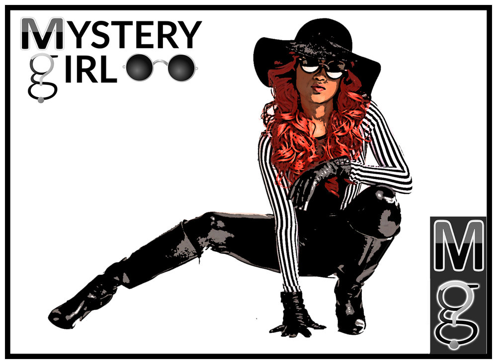 Mystery Girl Comics - The Mystery Girl Radio brand crossed over into the comic realm when Mystery Girl embodied a fictional superhero version of herself working press at New York City's 2016 ComicCon. Find out more about the mysterious superhuman vigilante.