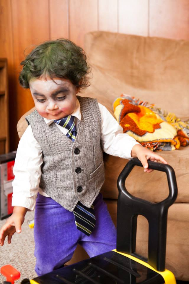 its really important to me that we chose a costume that suits his personality he is definitely not a fluffy little monster which seems to be the only - Joker Halloween Costume Kids