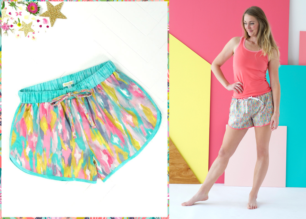 Iza Pearl Sleep Shorts