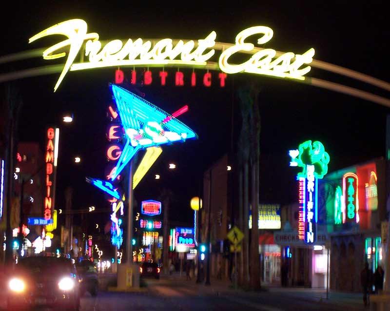 Freemont district, Las Vegas