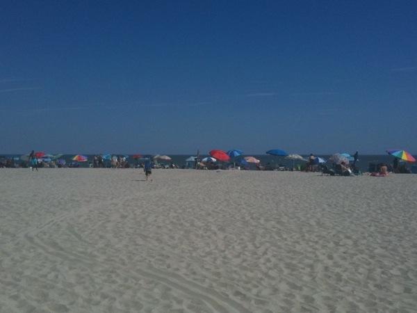 Cape May beach, July 30, 2011