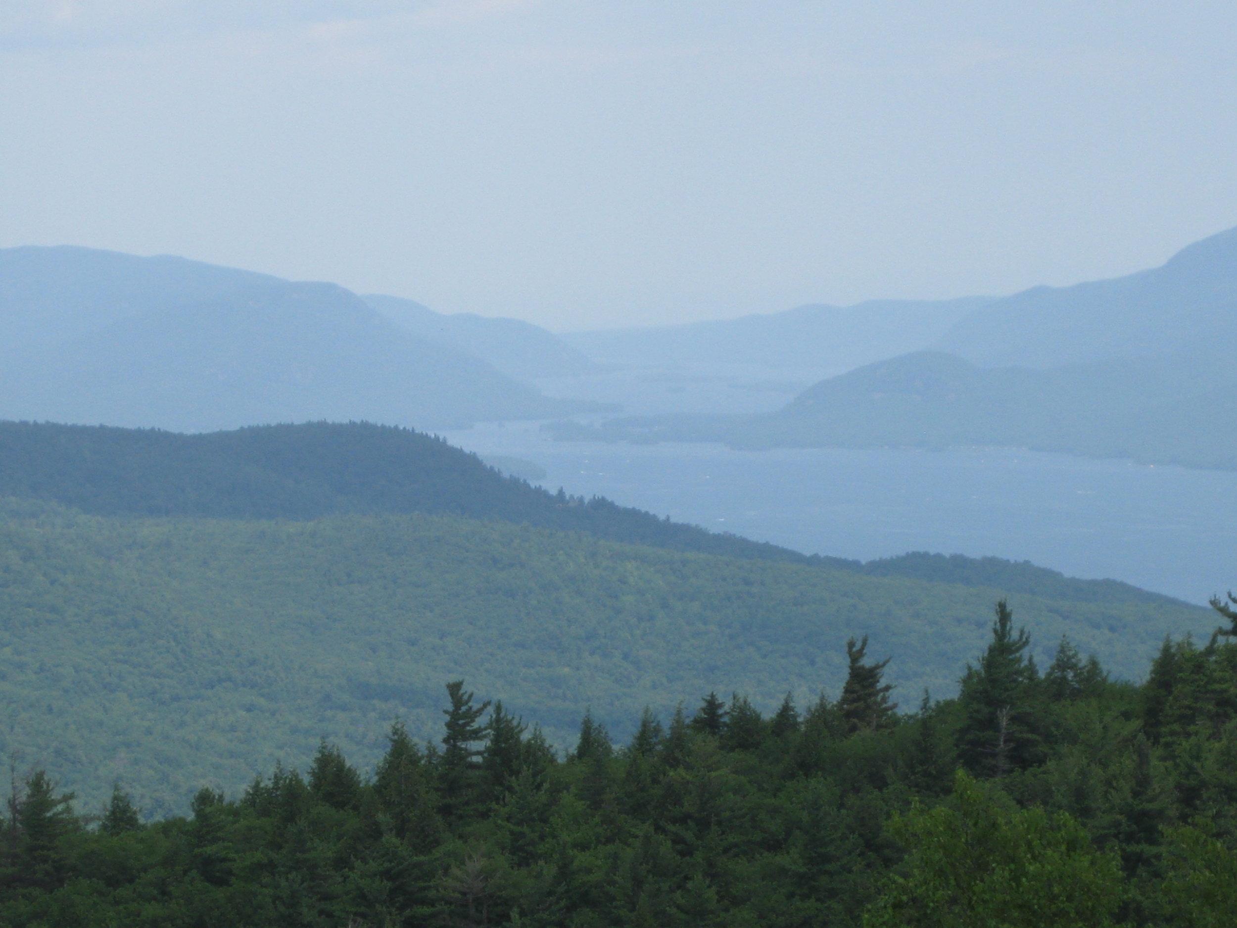 The Adirondacks, from Prospect Mountain