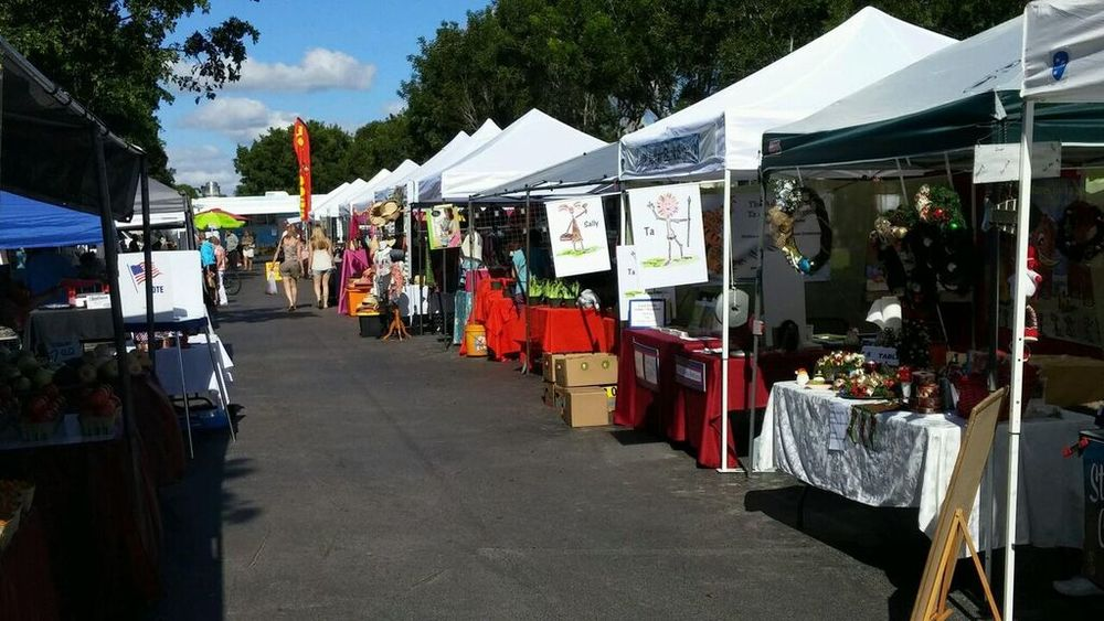 The Adventures of Ta and Boddington booth during the day at a local florida market.jpg
