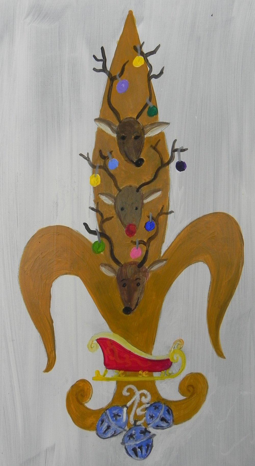 Reindeer de Lis