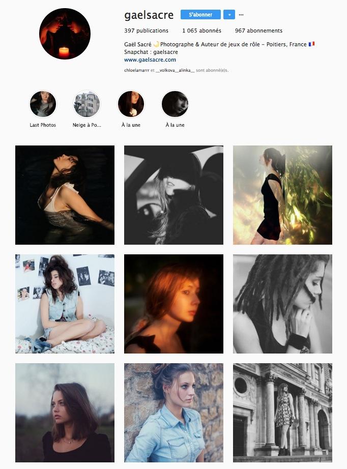 Mon compte instagram au 6 juin 2018. Près de 400 photos publiées, plus de 1000 abonnés et une moyenne de 60 likes par photo. Mais un patchwork de styles hétérogène ?