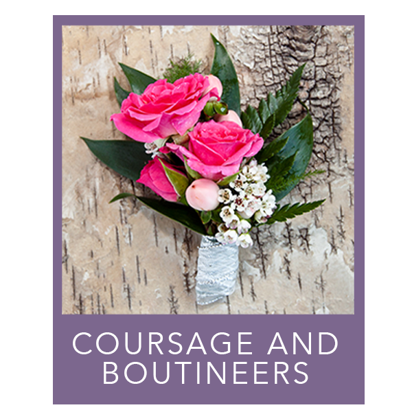 Coursage and Boutineers