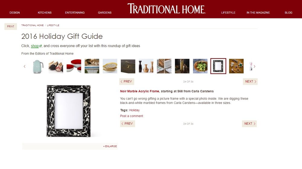 TraditionalHome.com / November 2016