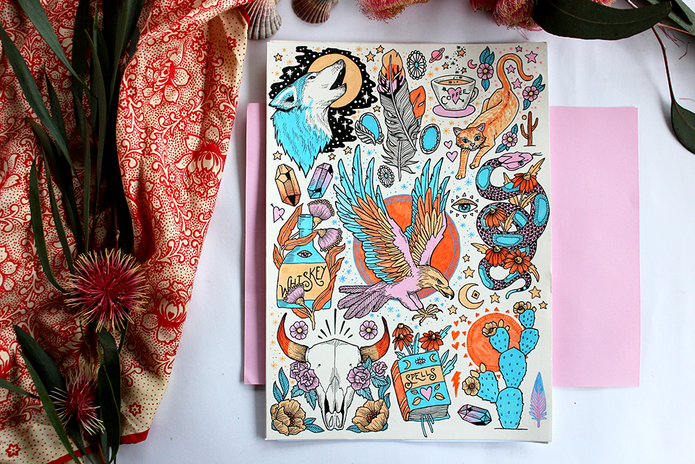 raychponygold_sketchbook_june12.jpg