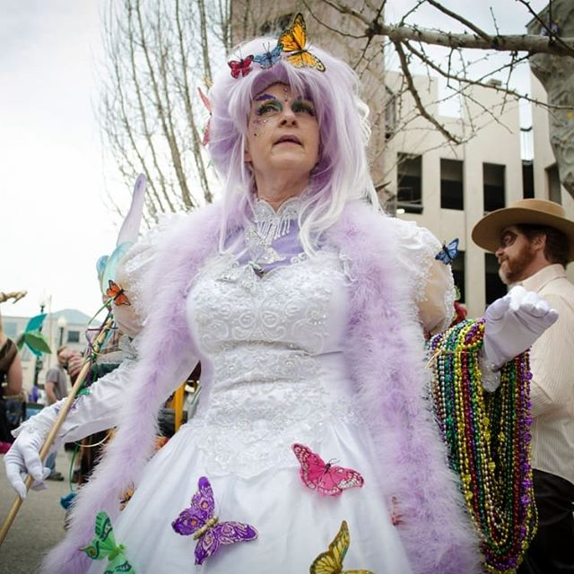 "Still have your costume from Asheville Mardi Gras? Dust off your ensemble and get ready to recycle your look for this year's Brewgrass Festival. Or,  assemble a team and get creative! This year we are giving away a $200 cash prize for the ""Best Group Costume."" Any group (2 or more) is welcome to participate. Kick off your Halloween weekend in style and win some cash to fuel the rest of your celebrating while you're at it! 📸: @mountainxpress .  #brewgrassfest #brewgrass2018 #boograss #gouhlgrass #halloweeen2018 #costumecontest #cashprize #groupcostumes #couplescostume #keepashevilleweird #828isgreat"