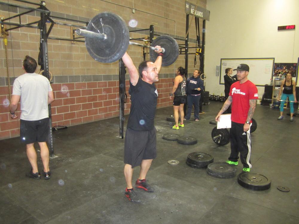 Crossfit Open 15 1/15 1A — Duke City Crossfit